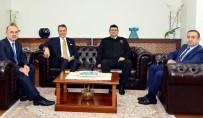 Beşiktaş Başkanı Fikret Orman'dan Yalova Valisine Ziyaret