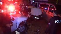 ABDİ İPEKÇİ - Cip İle Otomobil Çarpıştı Açıklaması 3 Yaralı