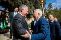 KRAL ABDULLAH - Filistin Devlet Başkanı Abbas, Ürdün Kralı İle Görüştü