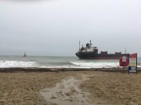 SOSYAL MEDYA - İngiltere'de Rus Kargo Gemisi Karaya Oturdu