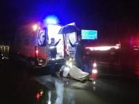 İtfaiye Kurtardı, Jandarma Islanmasınlar Diye Şemsiye Tuttu
