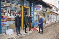 Karaman'da Gazipaşa Caddesinde Asfalt Ve Kaldırım Düzenlemesi