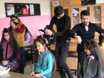 Köy Okullarındaki Öğrencilerin Saçları Ücretsiz Kesiliyor