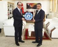 Samsun Valisi Kaymak'tan Rektör Coşkun'a Ziyaret