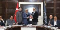 KOMBİNE BİLET - Van TSO Yönetiminden Van Büyükşehir Belediyespor'a Destek