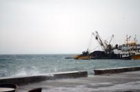 ALTıNKUM - Yüzlerce Martı Fırtınanın Keyfini Çıkardı