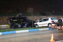 3 Aracın Karıştığı Kazada Sürücüler Yara Almadan Kurtuldu
