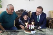 DOĞUM GÜNÜ - Aişe Nine 108 Yaşında İlk Kez Doğum Gününü Kutladı