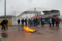 AVCILAR BELEDİYESİ - Avcılar'da Belediye Personeli İçin Yangın Tatbikatı