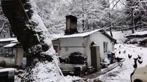 Balıkesir'de Kar Yağışı Ve Buzlanma