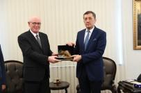 Ziya Selçuk - Başkan Kazım Kurt, Milli Eğitim Bakanı Ziya Selçuk'u Ziyaret Etti