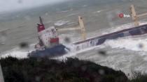 GÜNCELLEME 2- Şile'de Kuru Yük Gemisi Karaya Oturdu