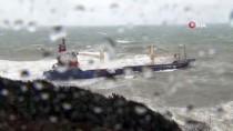 GÜNCELLEME- Şile'de Kuru Yük Gemisi Karaya Oturdu