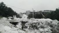 Güney Marmara'da Kar Yağışı Etkili Oldu