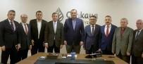 ALPER TAŞDELEN - Mali Müşavirlerden Başkan Taşdelen'e Ziyaret