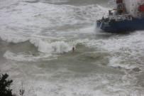 Şile'de Karaya Oturan Geminin Personeli Konuştu