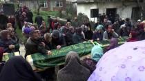 MUSTAFA ÇETİNKAYA - Yangında Ölen 3 Çocuk Son Yolculuğa Uğurlandı