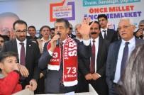 MEZHEP - AK Parti Belediye Başkanı Adayı Yarka'ya Şırnak'ta Coşkulu Karşılama