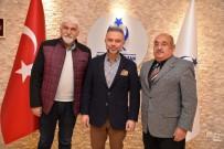 ALI EKBER - Alevi İnanç Birliği Vakfından Ertürk'e Ziyaret