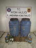 KAÇAK İÇKİ - Aydın'da 390 Litre Kaçak İçki Ele Geçirildi
