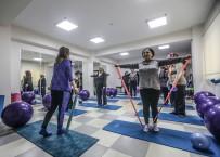 BOYUN FITIĞI - Bucalı Kadınlar Pilatese Akın Etti