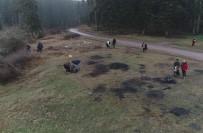AHMET DEMİR - Doğa Sporcuları Ormanlarda Çevre Temizliği Yaptı