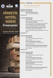 BAYBURT ÜNİVERSİTESİ REKTÖRÜ - GAÜN'de Sünnetin Aktüel Değeri Sempozyumu