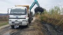 CENGIZ ERGÜN - Gölmarmara'da 2 Kilometrelik Dere Temizlik Çalışması Başladı