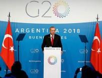 JAPONYA BAŞBAKANI - Cumhurbaşkanı Erdoğan'ın G20 trafiği