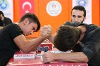 AHMET YıLDıZ - Kahramanmaraş'ta Bilek Güreşi Turnuvası