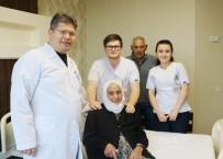 SAFRA KESESİ AMELİYATI - 100 Yaşındaki Hasta Ameliyatla Sağlığına Kavuştu
