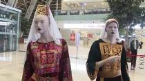 ÖLÜMSÜZ - Ankara'da Geleneksel Filistin Elbiseleri Sergisi