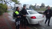 ALPARSLAN TÜRKEŞ - Antalya'da Babasının Aracıyla Drift Yaptı, Polisten Kaçamadı