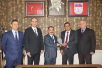 YANGIN TÜPÜ - Aydın'da Ayın Şoförüne Ödülünü Ticaret İl Müdürü Yazıcı Verdi