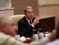 HAVA HAREKATI - Milli Savunma Bakanı Akar: Münbiç ve Fırat'ın doğusu konusunda yoğun şekilde çalışıyoruz