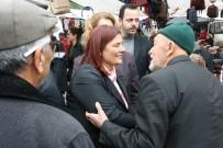 Başkan Çerçioğlu, Yenipazar Semt Pazarında Vatandaşla Buluştu