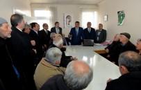 ORGANİK MEYVE - Başkan Gürkan, Üreticilerle Bir Araya Geldi