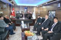 DENİZ FENERİ - Deniz Feneri Derneği Yetkililerinden Başkan Bozkurt'a Ziyaret