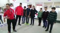 MUSTAFA HAKAN GÜVENÇER - Engelli Öğrenciler Bocce Öğreniyor