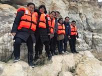 GÜNEY KORELİ - Güney Kore'den Kaya Resimlerini Görmeye Geldiler