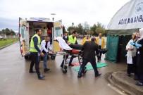 Hastanede Deprem Tatbikatı Gerçekleştirildi