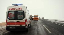 Kars'ta Trafik Kazaları Açıklaması 4 Yaralı