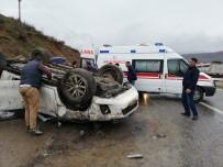 Kozluk'ta Trafik Kazası Açıklaması 2 Yaralı
