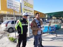 KIRMIZI IŞIK - Kuşadası'nda Drone İle Trafik Denetimi