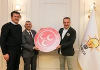 AYDIN ŞENGÜL - MHP İl Başkanı Şahin'den, Zeybekci Ve Şengül'e Ziyaret