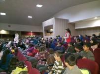 AHMET YESEVI - Öğrencilere 'Yeterli Ve Dengeli Beslenme' Konulu Seminer Düzenlendi