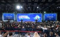 BÜYÜME ORANI - Rusya Lideri Putin Rekor Katılımlı Basın Toplantısı Gerçekleştiriyor