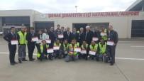 ŞERAFETTIN ELÇI - THY Eylül Ayı Mükemmellik Ödülü Şırnak Şerafettin Elçi Havalimanına Verildi