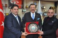 İKIZ KULELER - Türkiye Odalar Ve Borsalar Birliği Yönetim Kurulu Başkanı Rifat Hisarcıklıoğlu ETB'de