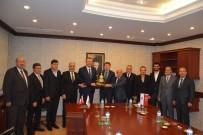 MILYON KILOVATSAAT - Un Sanayicilerinden OSB Başkanı'na Ziyaret
